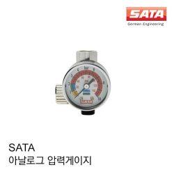 사타(SATA) - 아나로그 압력게이지