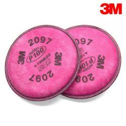 3M 방독면 필터 (2097K) 2EA/SET<BR>6200 / 7502용